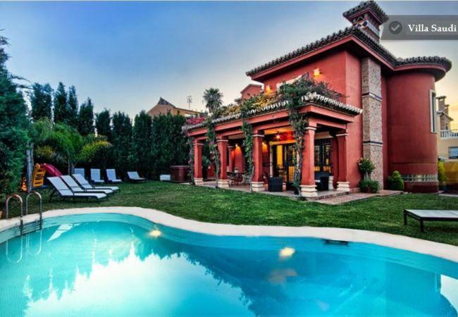 Villa en Torremolinos - villa saudi 8